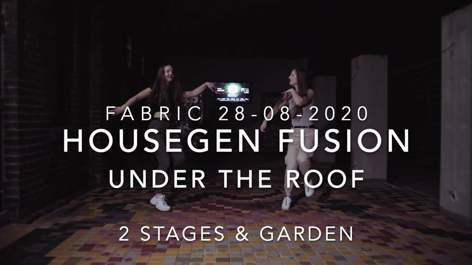 HouseGen Fusion Under The Roof flyer