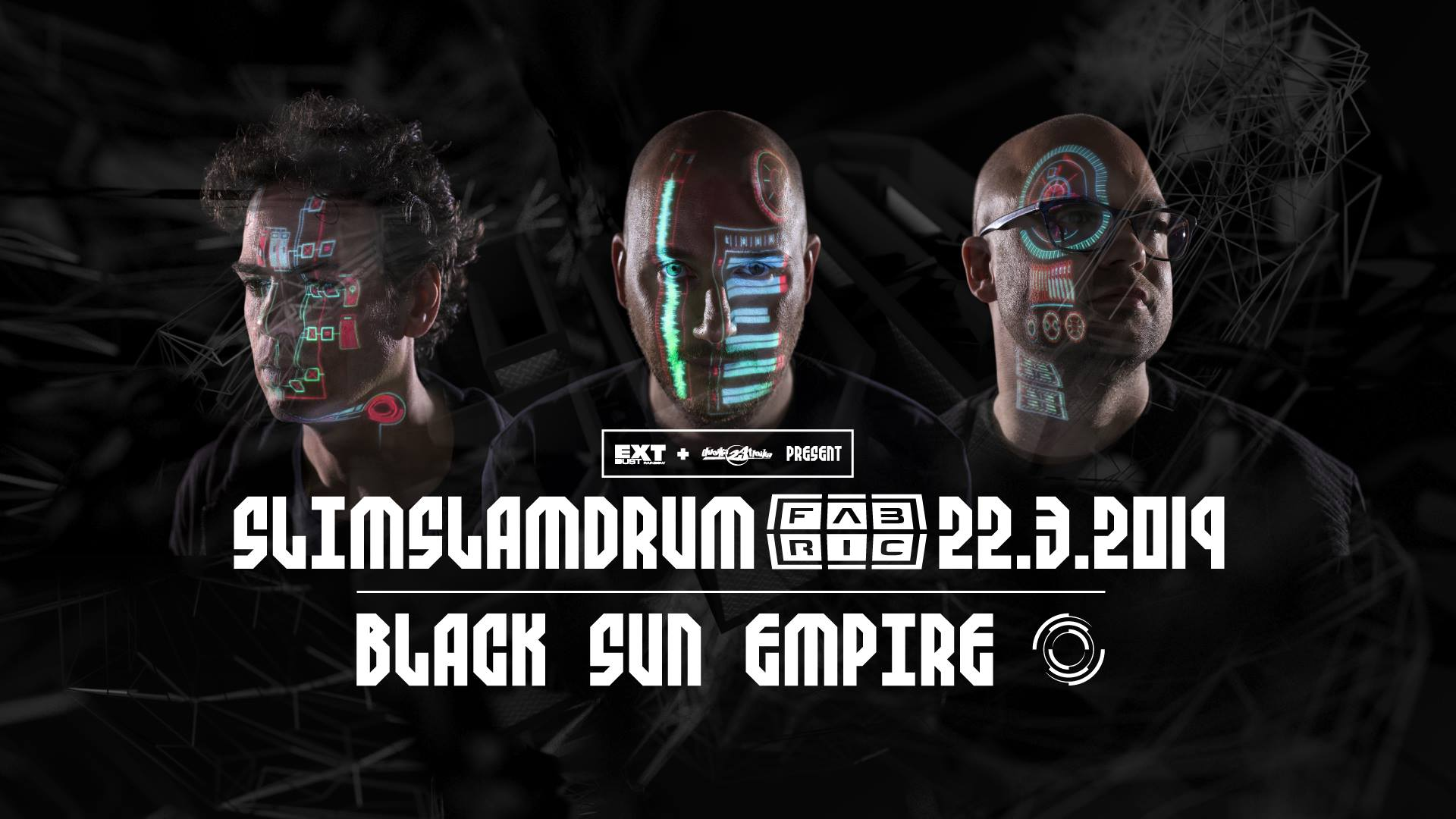 SSD w/ Black Sun Empire flyer