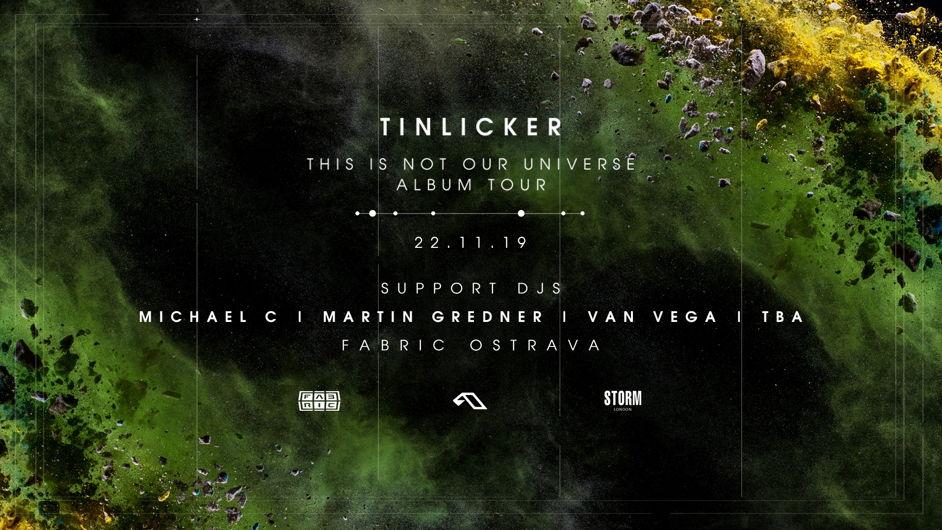 TINLICKER: This Is Not Our Universe Album Tour flyer