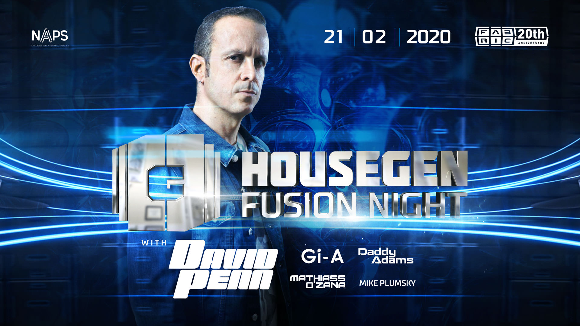 HouseGen Fusion: David Penn flyer