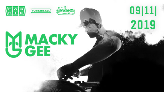 Fabric presents Macky Gee flyer